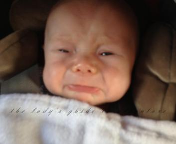 grumpy baby