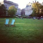 green park, london, sunny day