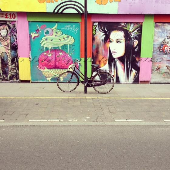 graffiti on brick lane, london, travel, art, illegal art