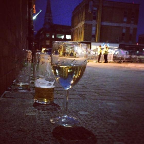 brick lane, london, street art, wine, drinking