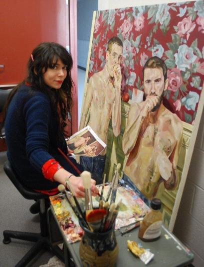 jamie gray williams, painting