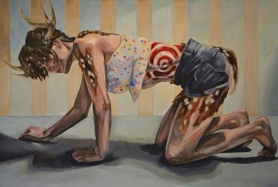 this is not open season, painting, beautiful art, jamie williams, jamie gray williams, art