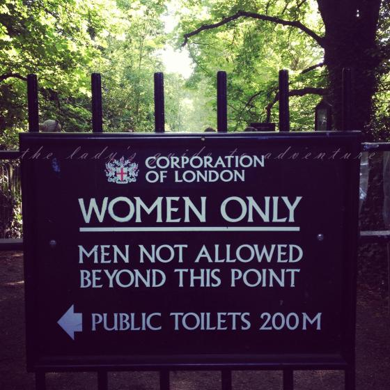 women only, hampstead heath, london, bathing pond, topless ladies