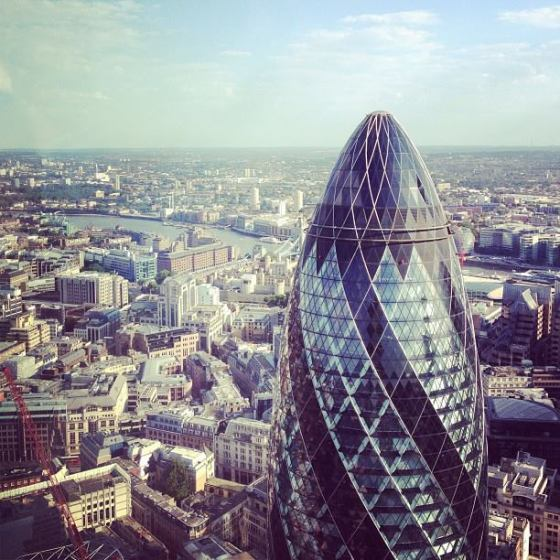 the gherkin, the pickle, london