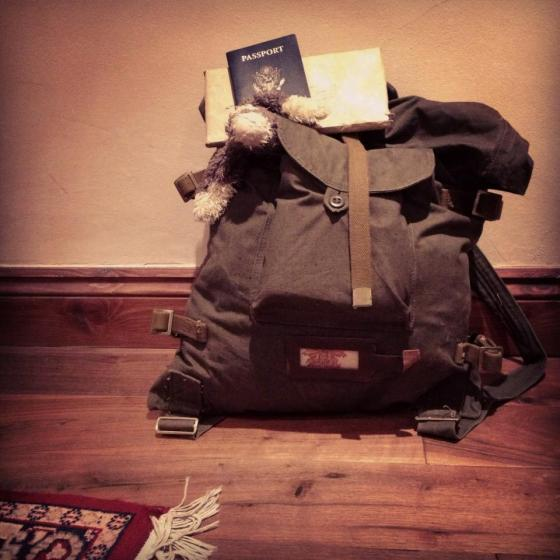 backpack, adventurer's backpack, europe