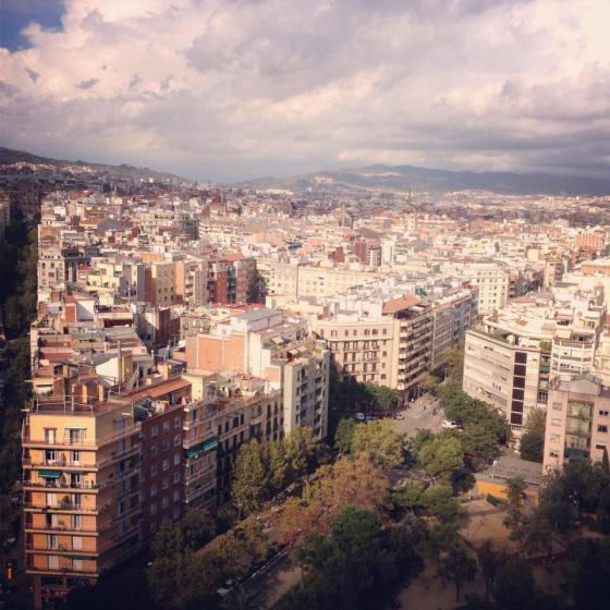 spain, barcelona, segrada familia