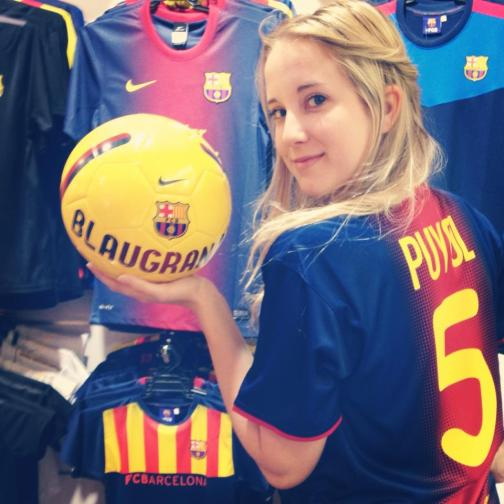 puyol, barcelona, camp nou, 2014 world cup draw, barca, valladolid, spain