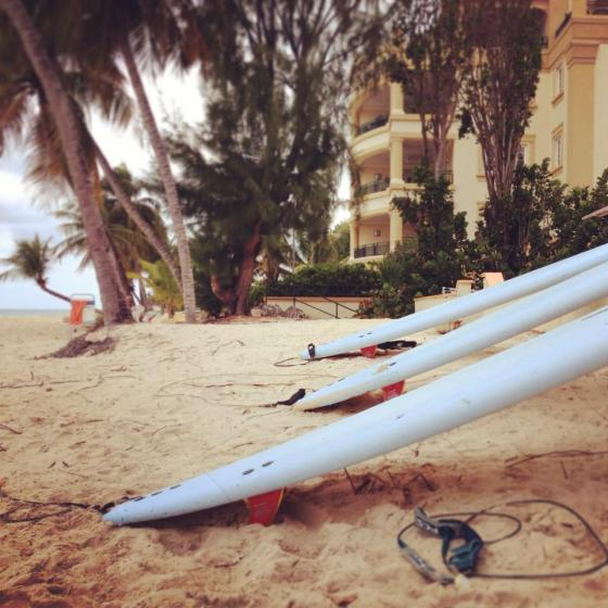 surfboards, barbados, trying new things, the ocean