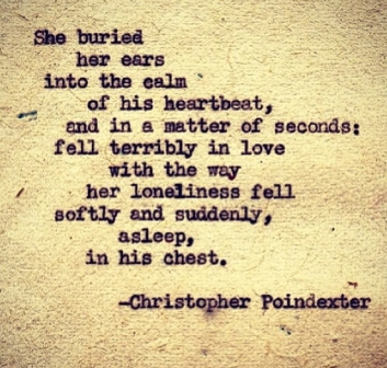 tiny eternities, magnificent stars, poem 9, christopher poindexter, poetry, typewriter, beautiful words, fell in love, calm of his heartbeat, remington typewriter, loneliness, lovely, art