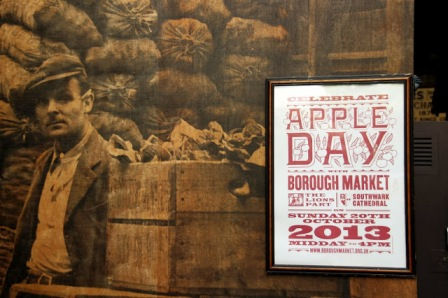 apple day, borough market, october 20, rainy day in london, bed