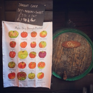 draught cider, apple day in borough market, apple day october 20, borough market celebrations, the lions part, apple cider in london, festivity  in london, southwark, apple cider, hot mulled cider