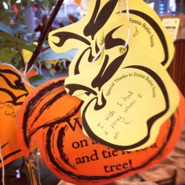 apple day wishes, the old orchard, wishing orchard, london, borough market apple day, wishes on trees, apples