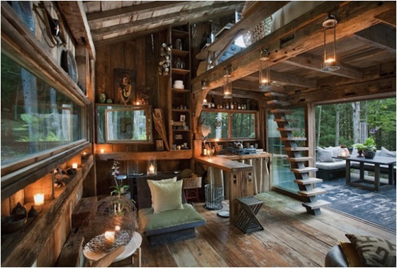 cabin in new york, cabin in the woods, beautiful interior, lovely cabin life