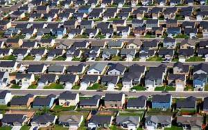 america, the united states of america, rows of houses, suburbia, welcome to america, dull, wal mart, shopping malls, the scared life, aesthetically lacking