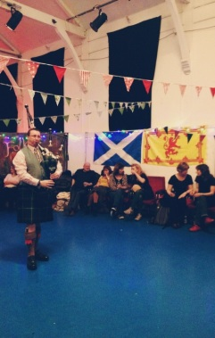 ceilidh dancing, burns night, london festivities, burns night 2016, haggis, robert burns, norwood, tulse hill, square dancing, bagpipers, community dancing